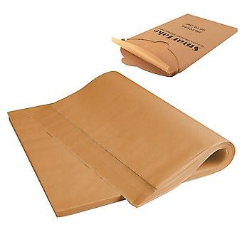 200PCS Olej silikonowy Pergamin do pieczenia papier jasnożółty 30x40cm