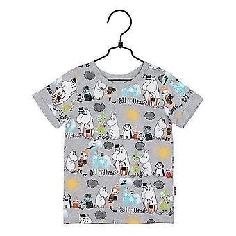 Moomin Summer Day T-shirt (Grijs) Martinex