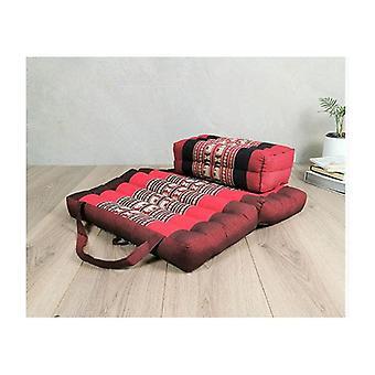 Faltbare Meditation Kissen und Sitzblock Set Redele