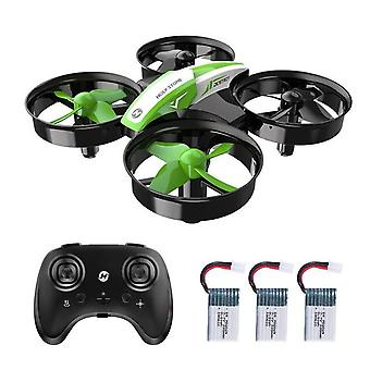 Hs210 Mini Rc Drone - One Key Land Auto Hovering Helicopter