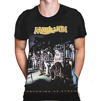 Born2rock - clutching at straws - marillion men's t-shirt