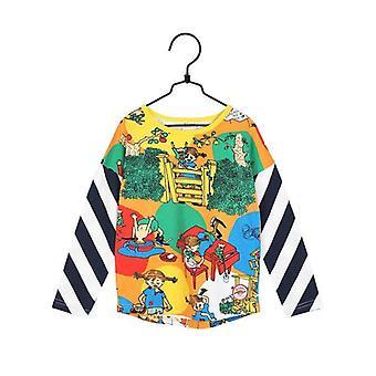 Pippi Longstocking Gap Sweater (Orange)