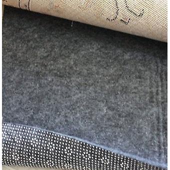Sprapa Home Podea Cover Non Slip Felt 3x5 cauciuc Negru Zona Rug Pad