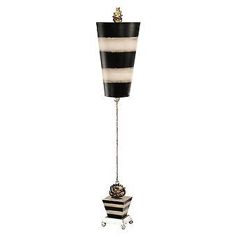 1 Lampe de table légère noire, Taupe, E27