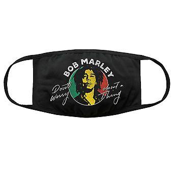 בוב מארלי מסכת פנים אל תדאג כיסוי מגן רשמי לשימוש חוזר לכביסה