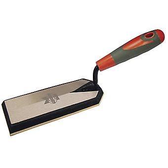 Faithfull Grout Trowel Soft Grip Handle 6 x 2.1/2in FAISGGROUT6