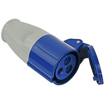 Faithfull Power Plus Blue Socket 16 Amp 240 Volt FPPSOC16AMP