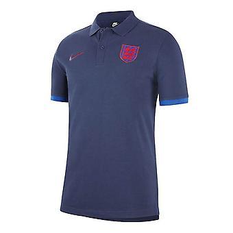 2020-2021 אנגליה נייקי ליבה פולו חולצה (חיל הים)