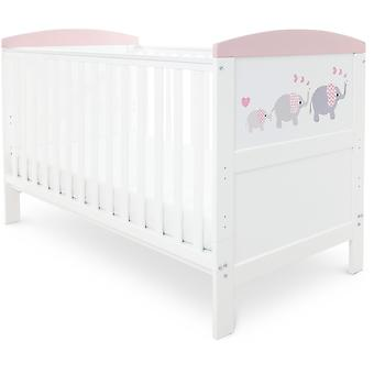 Babyhoot Coleby Style Cot Bed & Pocket Sprung Mattress