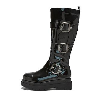 Onlineshoe Chunky Stompa Buckle Boots