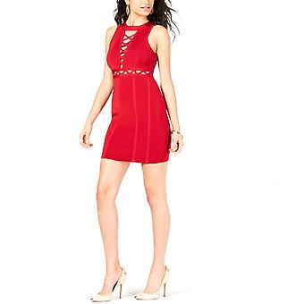 Guess | Sleeveless Mirage Crossed Lacing Dress