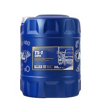 Mannol 20L TS-1 SHPD Huile de moteur minéral 15W-40 Acea E3/A3/B3 Volvo VDS-2