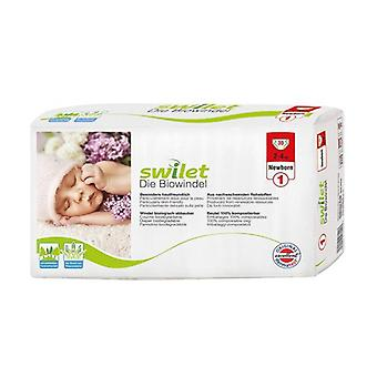 Biodegradable Diapers Size 1 (2-4 Kg) 30 units