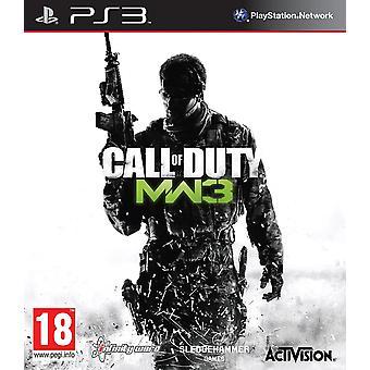 Call of Duty Modern Warfare 3 PS3 Spel (franska Box)