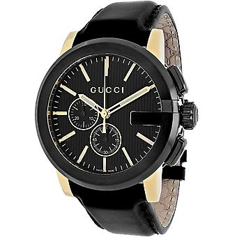 Gucci Men's G-Chrono Black Dial Watch - YA101203