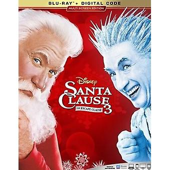 Santa Clause 3: The Escape Clause [Blu-ray] USA import
