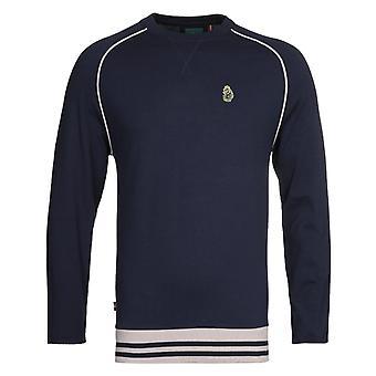 Luke 1977 Owl Lair Navy Sweatshirt