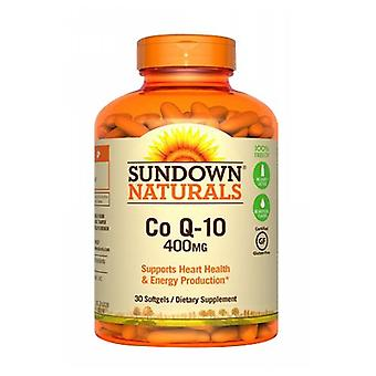 Sundown Naturals Co Q-10, 400 mg, 12 X 30 Softgels