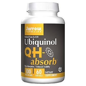 Jarrow Formler QH-Absorbera, 100 mg, 60 Sftgels