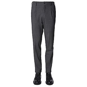 Traiano Tp10ta05ti3a Men's Grey Nylon Pants