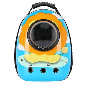 Sunflower Transparent Travel Carrier Pet Backpack