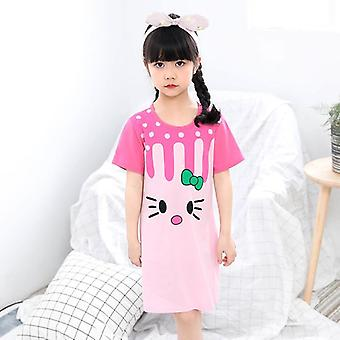 Unicorn Nightdress, Pyjamas Kläder Sleepwear Set
