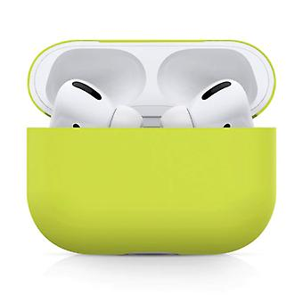 SIFREE Flexible Case for AirPods Pro - Silicone Skin AirPod Case Cover Flexible - Yellow
