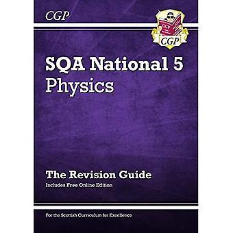 New National 5 Physics: guia de revisão SQA com edição online