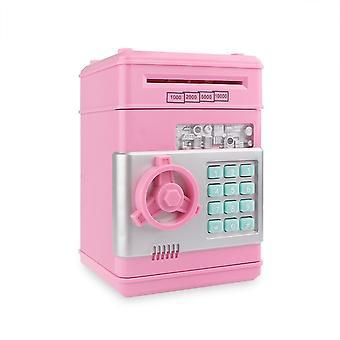 Электронный Piggy Bank банкомат пароль Деньги Box Денежные монеты Сохранение Box банкомат Банка Безопасный ящик Автоматическая банкнота Рождественский подарок
