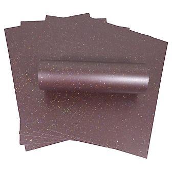 10 Feuilles A4 Mulberry Iridescent Sparkle Card Qualité 300gsm