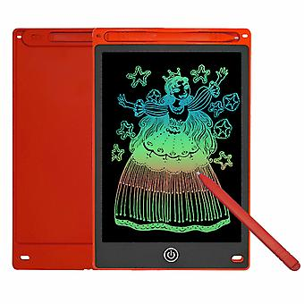 "Waterman 10"" LCD Color Screen Digital Writing & Drawing Tablet, Rood"