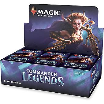 Magic The Gathering Commander Legends Draft Booster Display 24-Pack