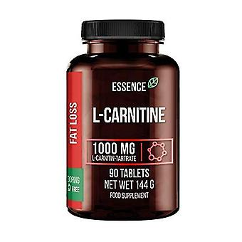 L-carnitine 90 tablets of 1000mg
