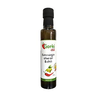 Spicy extra virgin olive oil - Medium Hot 250 g of oil