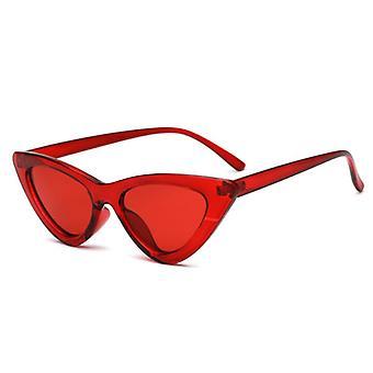 لطيف مثير الرجعية القط النظارات الشمسية العين، مثلث صغير خمر النظارات الشمسية