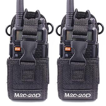 Msc-20d Nylon Carry Case For Walkie Talkie