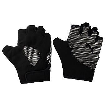 Puma Ambition Gym Fitness Unisex Fingerless Gloves Svart 041460 01