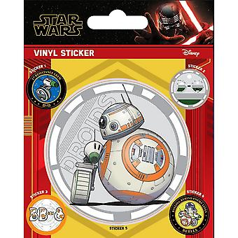 Star Wars: The Rise of Skywalker Vinyl Droids Stickers (Pack of 5)