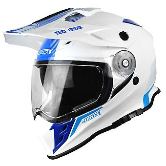 Just1 J34 Adventure Adults MX Helmet - Blue