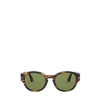 Persol PO3230S brown & yellow tortoise unisex sunglasses