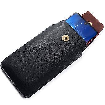Nouveau boîtier de ceinture verticale de couverture en cuir design avec fermeture magnétique pour INFINIX ZERO 8i (2020)
