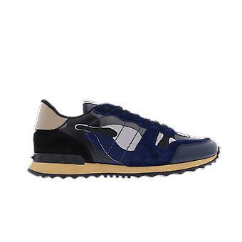 Valentino Camouflage Pernament Blå SY2S0723XVUBY0 sko