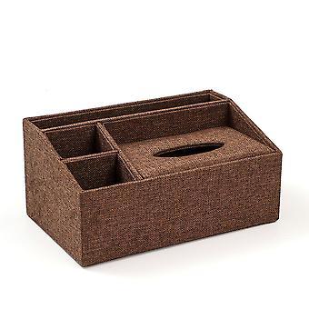 Xxl tkáňová krabička se 3 přihrádky