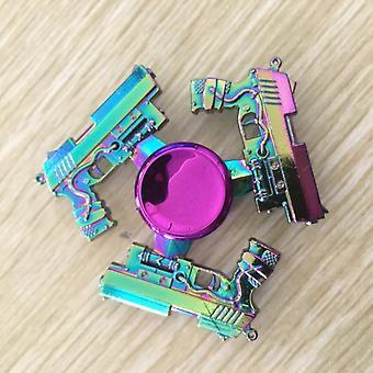 Fidget Metal Edc Hand Spinner para autismo e alívio do estresse de ansiedade de tdah