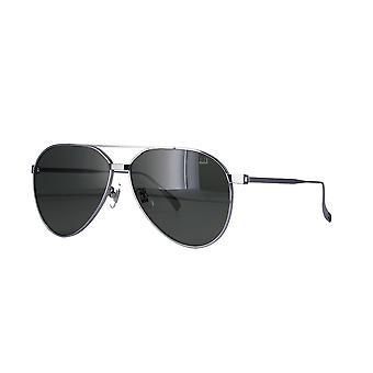 Dunhill DU0005S 004 Silver/Green Sunglasses