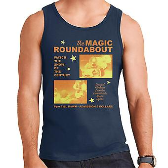 The Magic Roundabout Retro Show Poster Men's Vest
