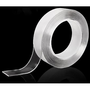 Transparent Nano Tape Washable Reusable Double-sided Adhesive