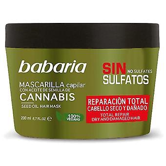 Babaria Cannabis Total Repair Mask 200 ml