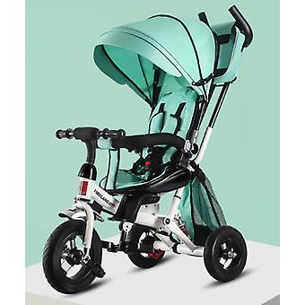 Children's Three Wheel Baby Push Rotating Seat Shock Absorption Bike