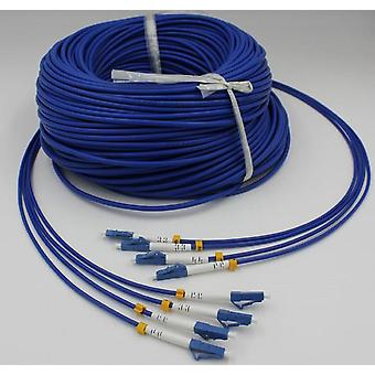 Sc Lc St Fc 300meter Armored Fiber Optic Jumper Cable